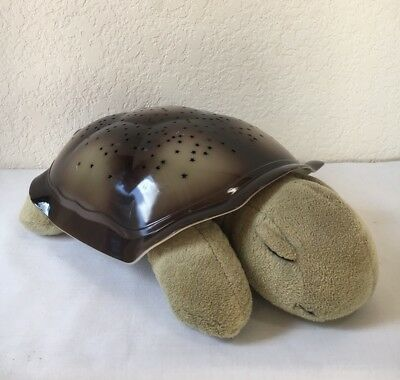 Cloud B Turtle Constellation Night Light Moon Stars Amber Blue Green w/Batteries