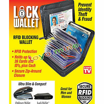 Lock Wallet - RFID Blocking Wallets As Seen On TV US