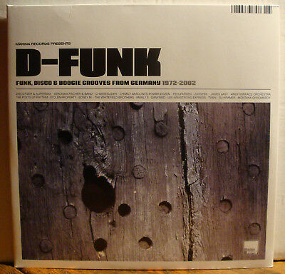 DoLP D-FUNK - FUNK, DISCO & BOOGIE GROOVES FROM GERMANY 1972-2002  2009