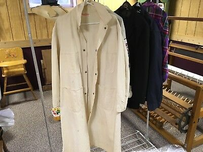 Vintage Lab Coat Sanforized. Stone Cutter Universal Overall Co. Chicago
