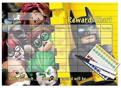 reusable reward chart