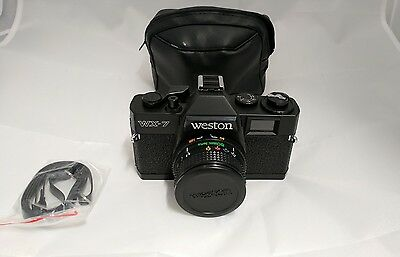 Vintage Brand New Weston WX-7 35mm Camera 50mm Optical Lens