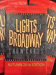 Lights of Broadway Show Cards: Autumn 2016 10 Card Variety
