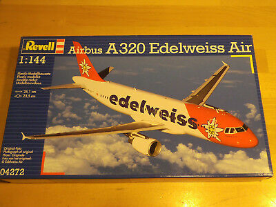 Revell 04272 Airbus A320 Edelweiss Air in 1:144 - 1/144th scale