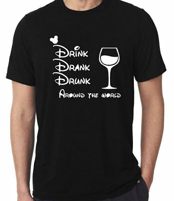 Drink Drank Drunk Around the World shirt,Disney Food and Wine Festival