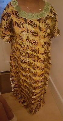 Beautiful African Baltic Dress With Embroidery