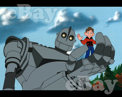 Rare! IRON GIANT Cartoon Color Photo WARNER BROS ANIMATION Feature Film