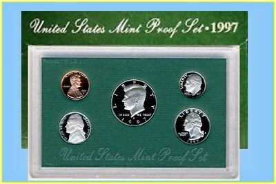 United States Mint Proof Set 1997s