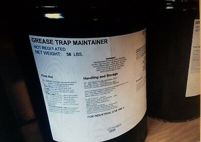 7 Grease Trap Maintainer - 5 Gallon Pails / Lot of 7