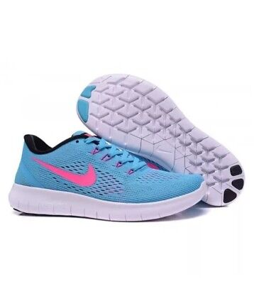 a96142997ba34 NIKE FREE RN Womens Size 7.5 Athletic Running Shoes 831509-401 ...