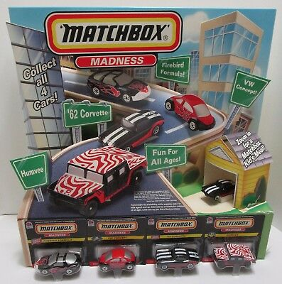 1998 Taco Bell Matchbox Madness Store Display W/Box ***Free Shipping***