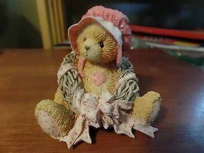 1992 Enesco Cherished Teddies Priscilla #1607