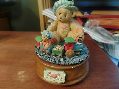 1993 Enesco Cherished Teddies Music Box-912964 #1684