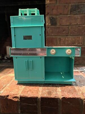 Vintage 1960's Kenner Easy Bake Oven Turquoise