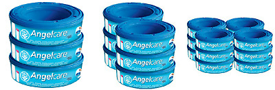 Angelcare Nappy Disposal System Refill Cassettes Pack 3,6 &12 FREE DELIVERY New