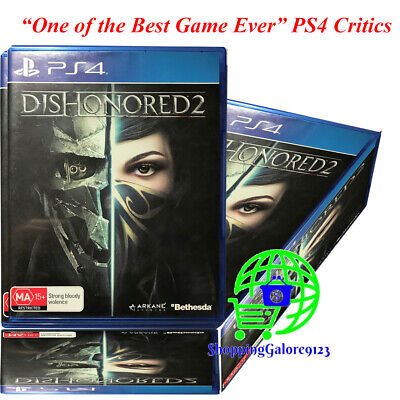 Brand New Dishonored 2 Dishonored II  PS4 Game Bethesda