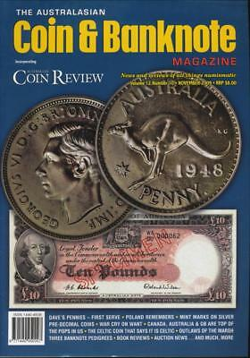 The Australasian Coin and Banknote Magazine, November 2009, Volume 12, Number 10