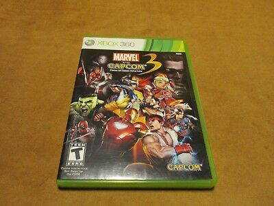 ~~~Marvel vs. Capcom 3: Fate of Two Worlds (Microsoft Xbox 360, 2011) Tested~~~