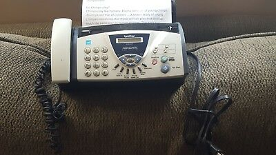 Brother Fax-575 Personal Plain Paper Fax,Phone & Copier works great