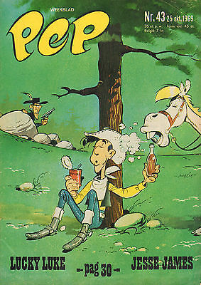PEP 1969 nr. 43  - ENGELBERT HUMPERDINCK /LUCKY LUKE (COVER) / COMICS