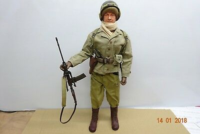 1/6  Dragon ,70092,Johnson LMG Gunner - First Special Service Force