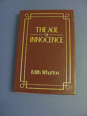 The Age Of Innocence EDITH WHARTON Barnes and Noble Leather Binding