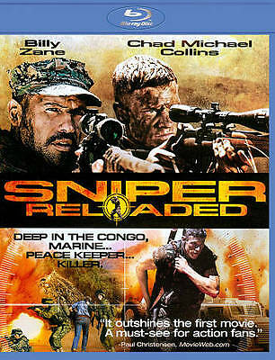 Sniper: Reloaded (Blu-ray Disc, 2011) (US Special Forces in Congo)