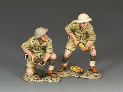 King and Country British 25 PDR. Field Gun Crew (Aust.) EA091(AU)