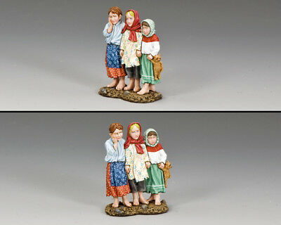 King and Country Three Russian Children FOB141