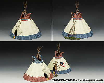 King and Country Sioux Indian Tepee (Version #1) TRW064