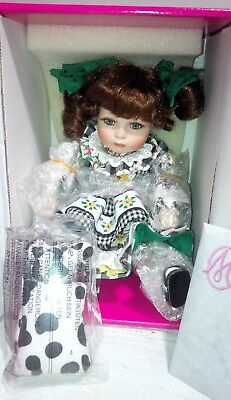 """Marie Osmond 6"""" Porcelain Tiny Tot Doll I'LL LOVE YOU TIL THE COWS COME HOME"""