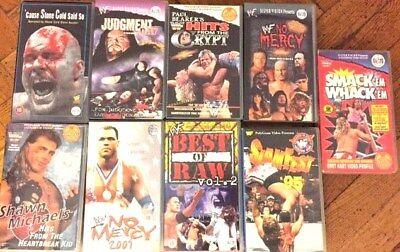 WRESTLING VIDEOS auf VHS WWF wwe IN YOUR HOUSE Judgment Day lot Silvervision