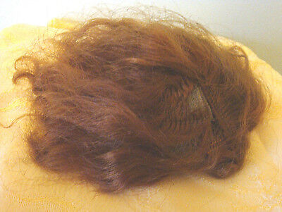 Madame Alexander Doll Wig Vintage Cissy Size 10 Red Auburn for Repair Restore