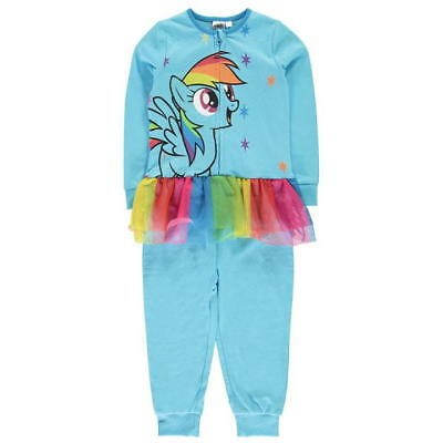 Girls My Little Pony Rainbow Dash All In One Nightwear Pj's Pyjamas Not Gerber