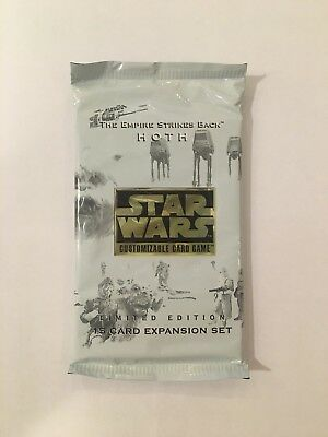 Star Wars CCG - Hoth Limited Booster Pack - Sealed