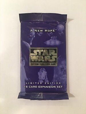Star Wars CCG - A New Hope Limited Booster Pack - Sealed