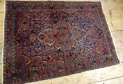 antik rug carpet alfombre keshan ferehan sarough feraghan antique 141 x 102 cm