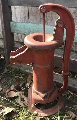 Antique Hand Well Water Pump Cast Iron Garden Decor