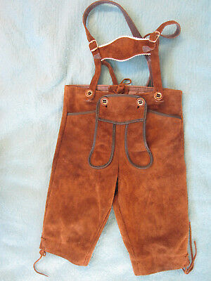 Authentic Leatherhosen pants, OCTOBERFEST KIDS, St.Peter Trachten, from Austria