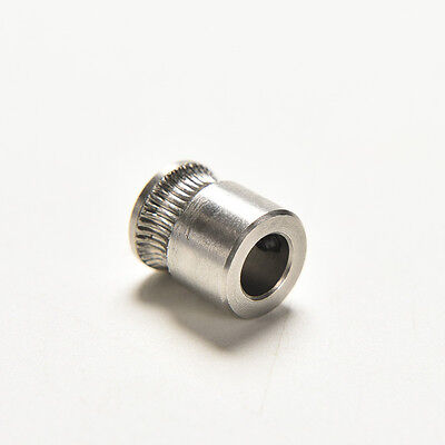 MK8 Extruder Drive Gear Hobbed Stainless Steel For Reprap Makerbot 3D Printer TO
