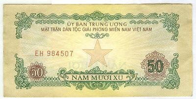 North Vietnamese Vietcong MPC Military Payment Certificate 1st Issue 50¢ 1963