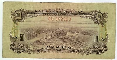 North Vietnamese Vietcong MPC Military Payment Certificate 2nd Issue 50¢ 1966