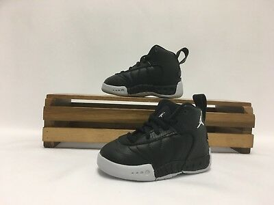 Nike Toddlers TD Jordan Jumpman Pro BT Black White Basketball Shoes 909418-022