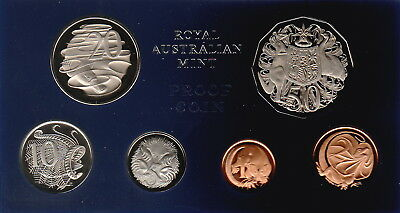 "Australia,1,2,5,10,20,50 Cents Coins,1969 Proof Set Cat#PS-31""Best Deal on Ebay"""
