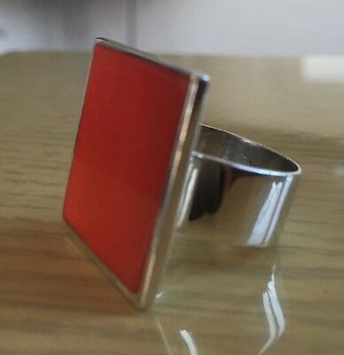 Very Rare Solid Sterling Silver Links Of London Ring STUNNING