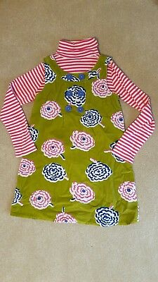 Mini Boden Dress & Polo Neck Top Bundle Set - 6-7 years