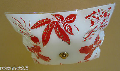 Vintage Lighting mid century kitchen light with vegetables   Never Used