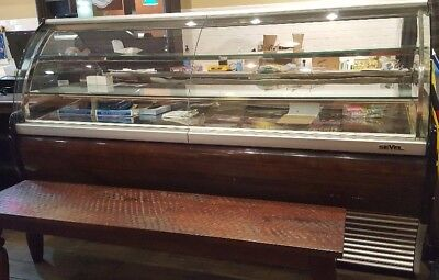Used Sevel Bakery/Chocolate/Candy  Display Case non refrigerated lighted