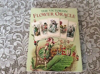 The Victorian Flower Oracle Set Extremely RARE OOP Magic Realist Press Baba 2006