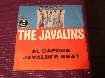 The Javalins Single vinyl 7 indo Beat Columbia Al Capone/ Javalins Beat 45er pop